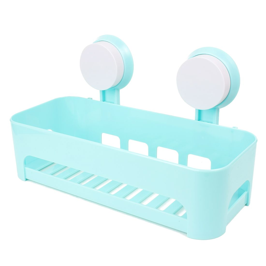 UXCELL Detachable Plastic Bathroom Corner Wall Sucking Suction Cup ...