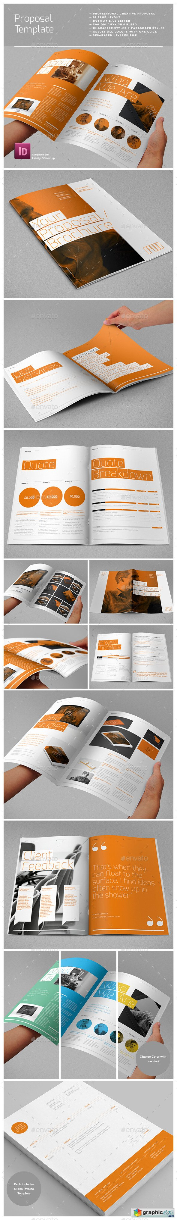 Proposal Layouts Agency Proposal Template  Template  Pinterest  Proposal Templates .