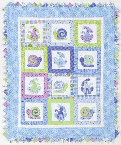 Baby quilt applique