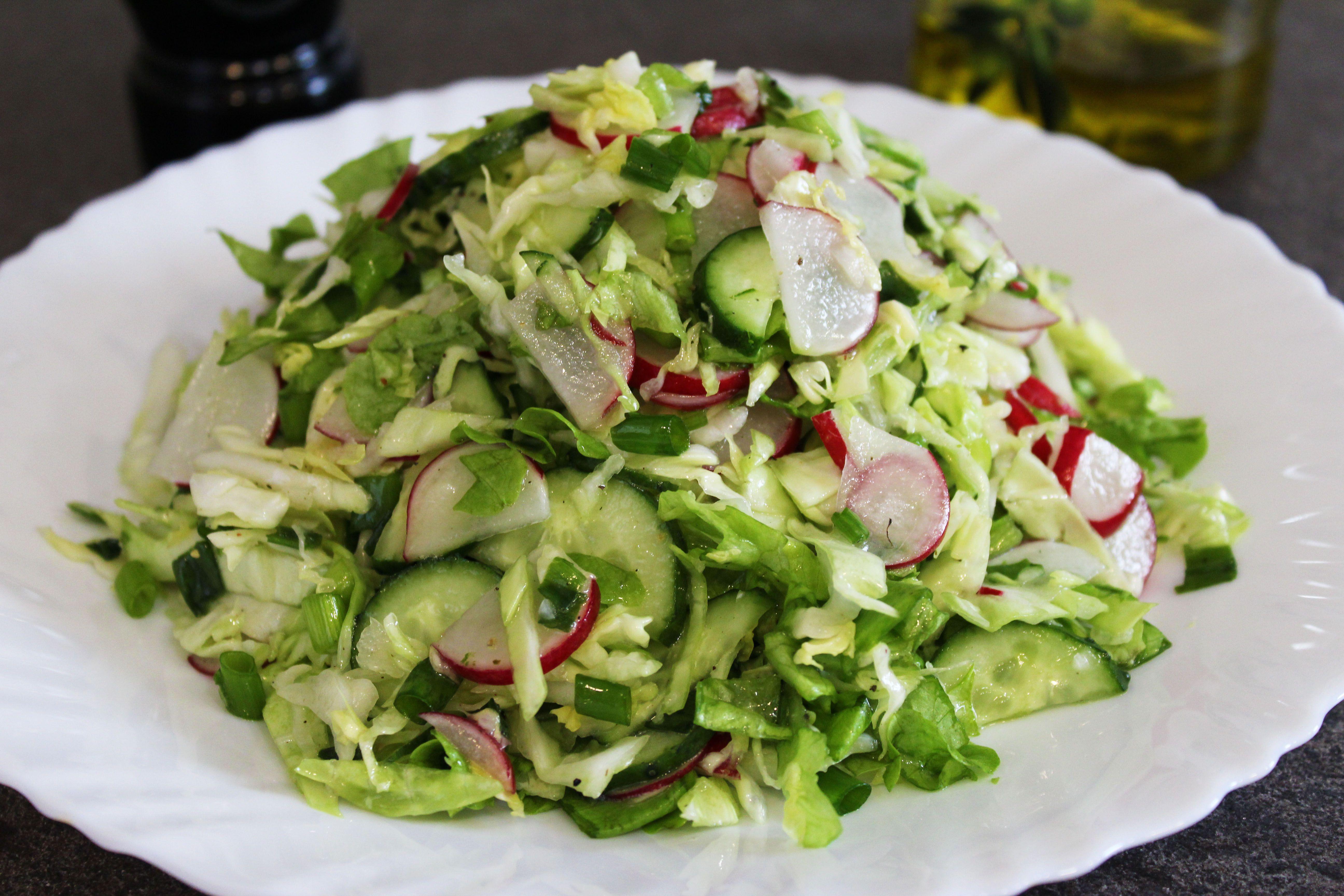 Весенние салаты рецепты с фото простые