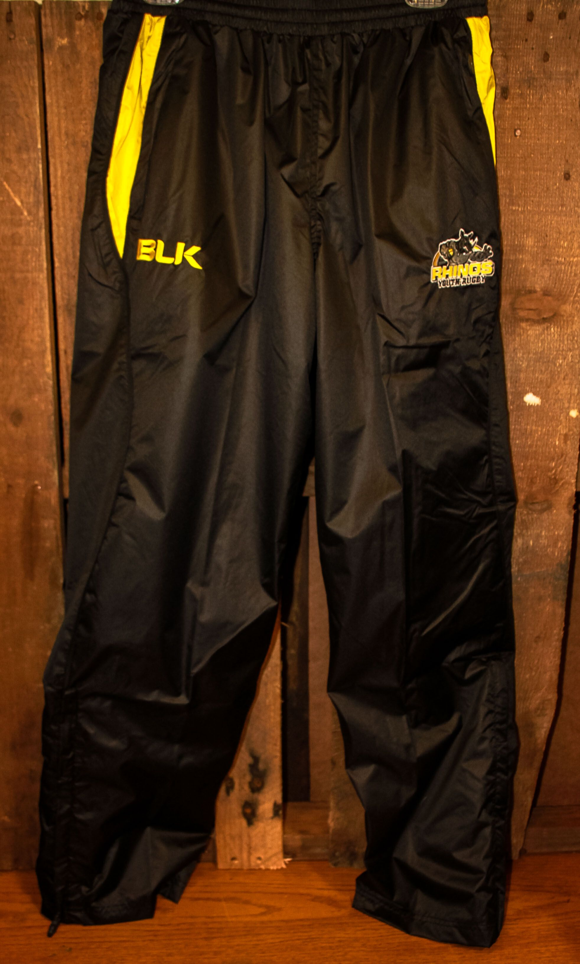 Rhino Rugby Club's new cut & sew BLK track suit  | Youth