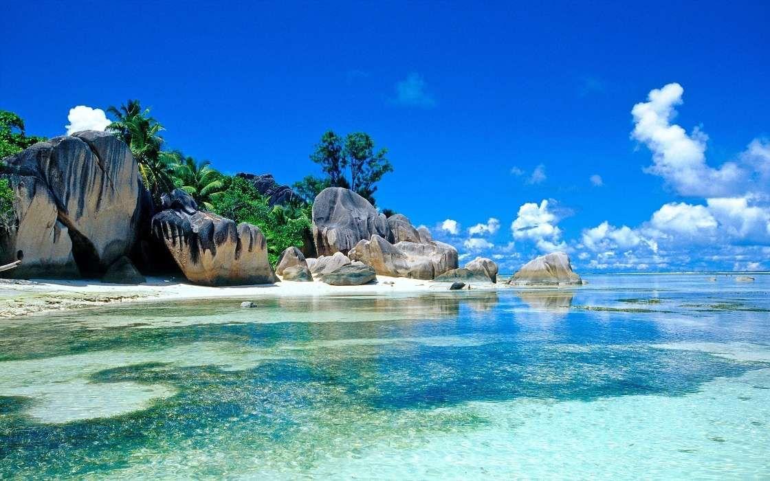 Baixar a imagem para telefone: Paisagem, Mar, Prai