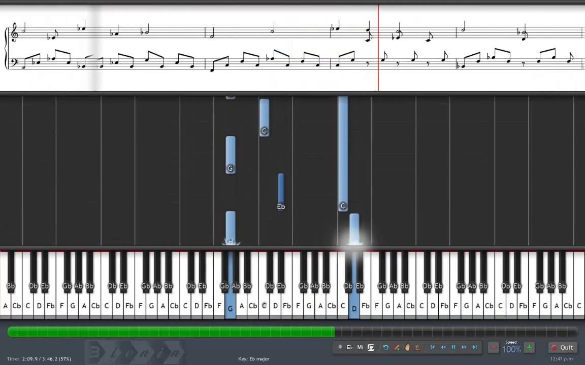 Naruto Shippuden Guren Theme Synthesia Full Version