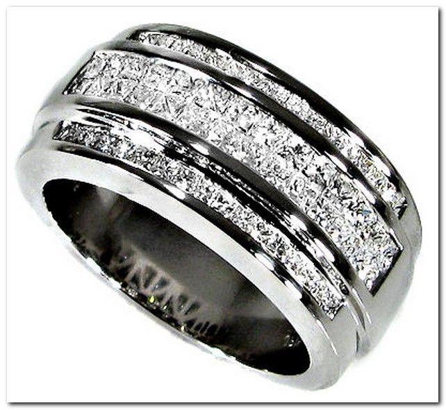 Men S Diamond Wedding Bands