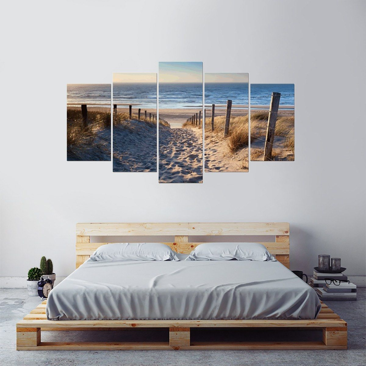 Headed to the beach piece canvas wall art canvases walls and