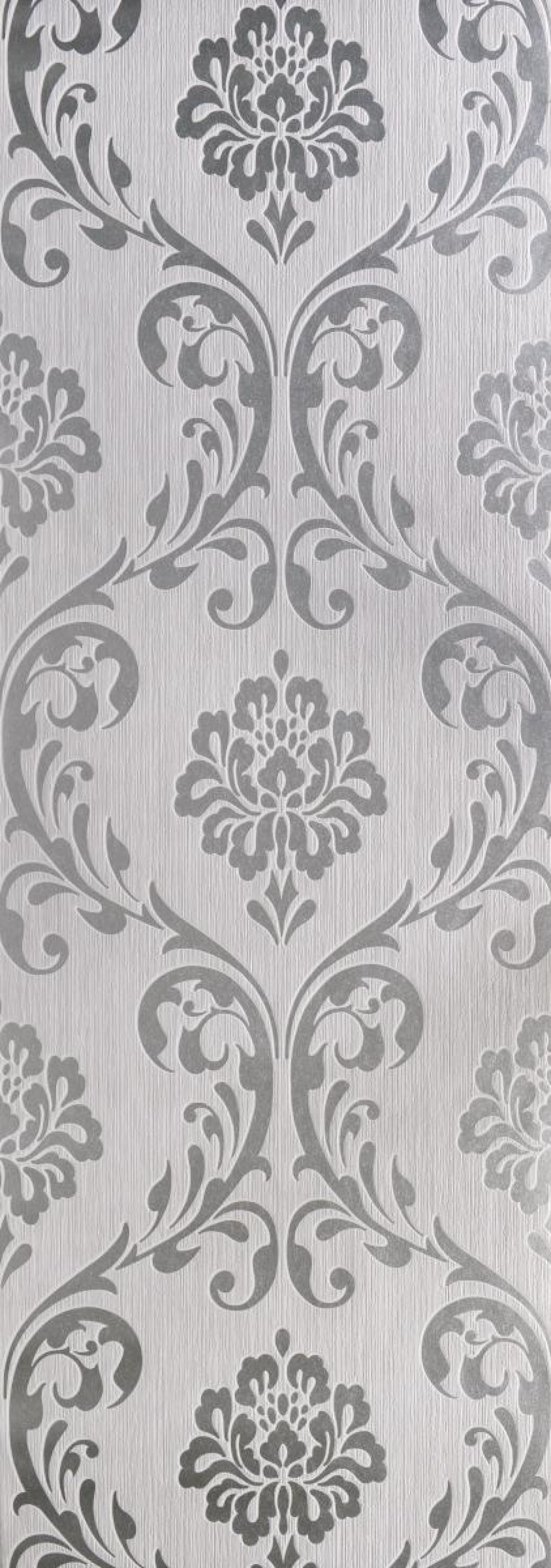 Vliestapete Ornament silber in 2019 | Tapeten, Vinyl ...