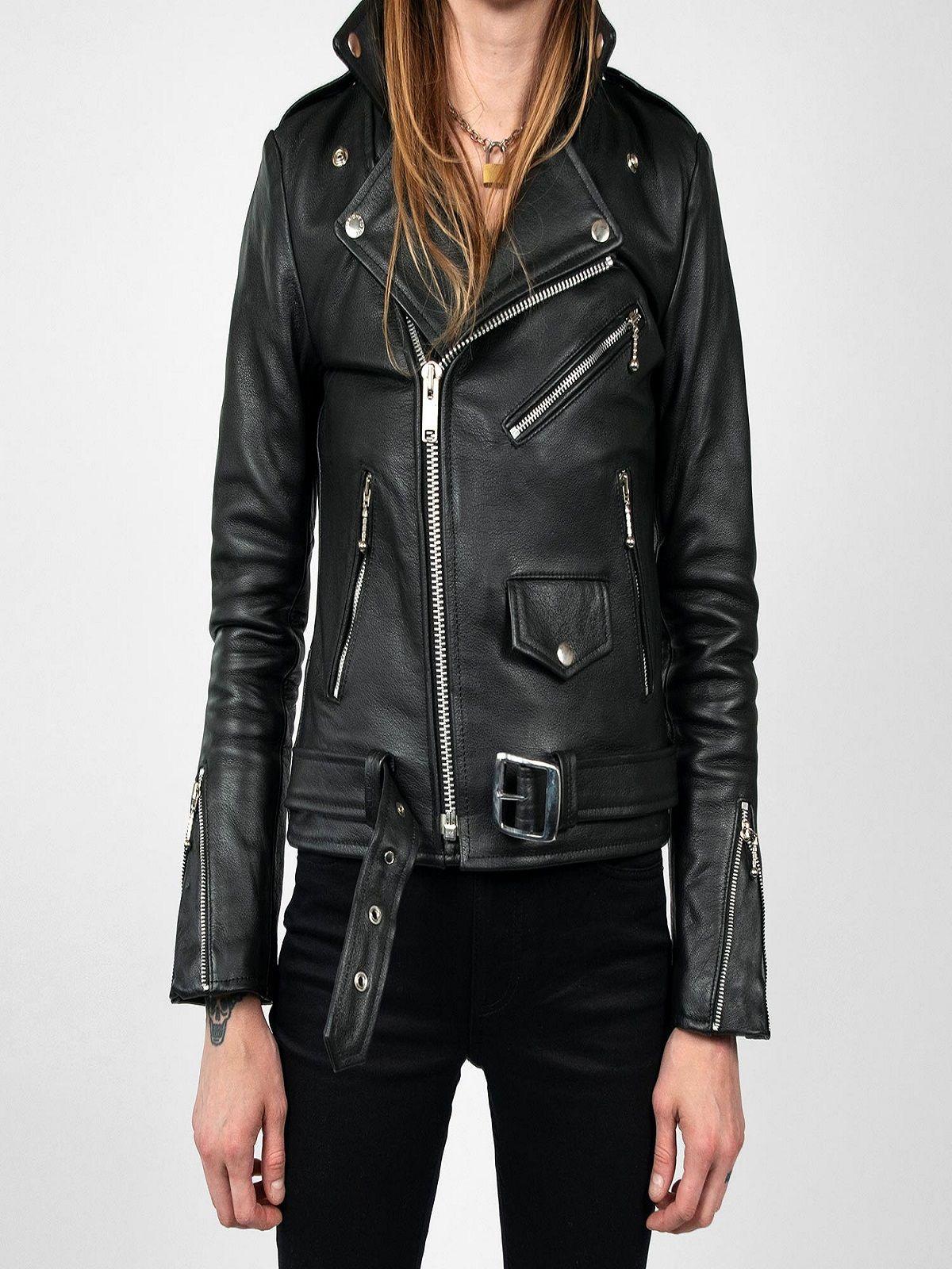 Trending Black Biker Jacket For Women Women Jacket Mauvetree Womens Black Jacket Womens Black Leather Jacket Black Biker Jacket [ 1600 x 1200 Pixel ]