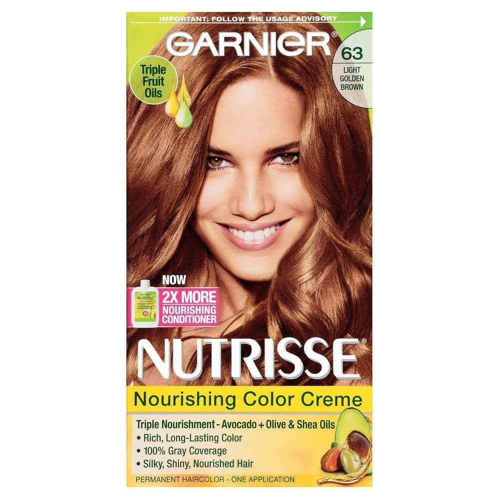 Garnier Nutrisse Nourishing Color Creme 63 Light Golden
