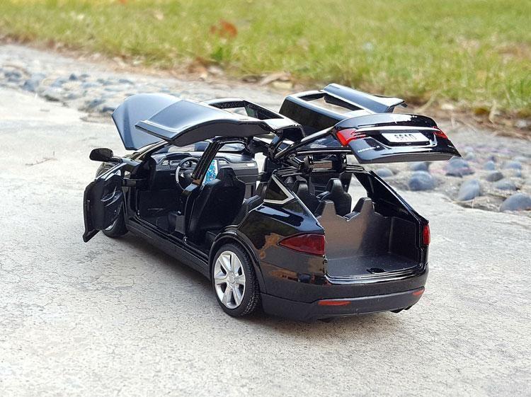 $ 23.72 Tesla MODEL X Alloy Car Model Diecasts & Toy ...