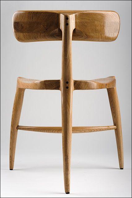 Tea party chair inspired by Scott Morrison.   Marius Morozas ...