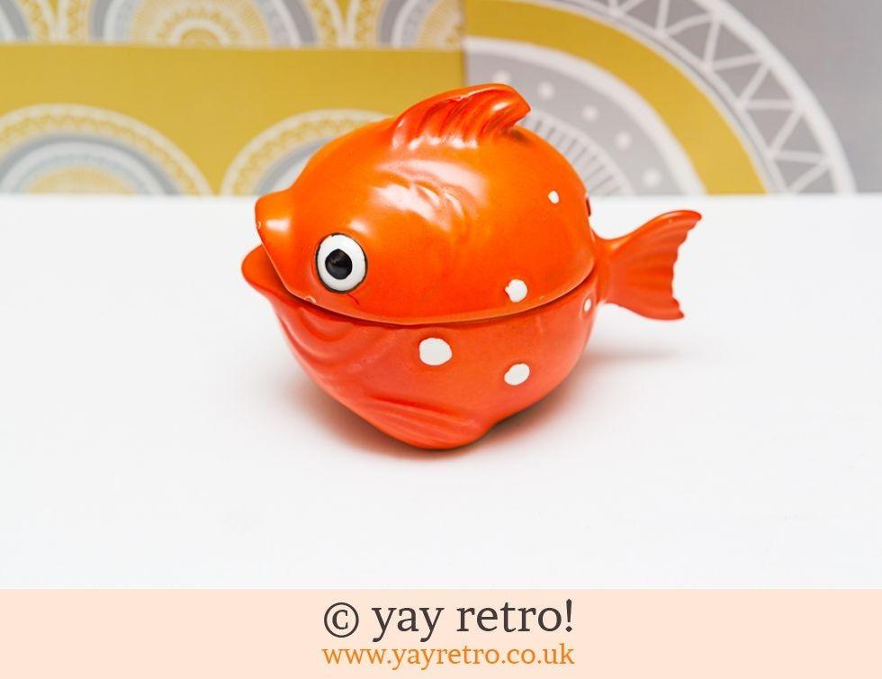 Rare Goebel Goldfish Lidded Pot (£24.95)
