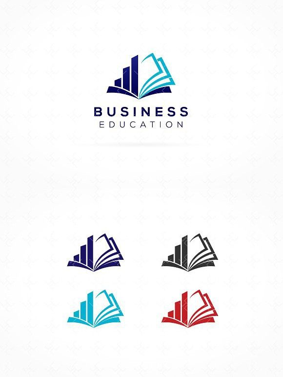 Business Education Logo With Images Book Logo Education Logo