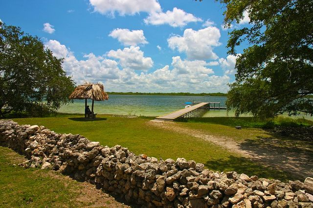 Lamanai (Northern Belize): One of the more interesting and picturesque Mayan ruins in Belize, Lamanai features three large pyramids.