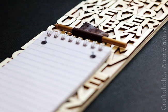 Craftaholics Anonymous® | Typeface Memo Board
