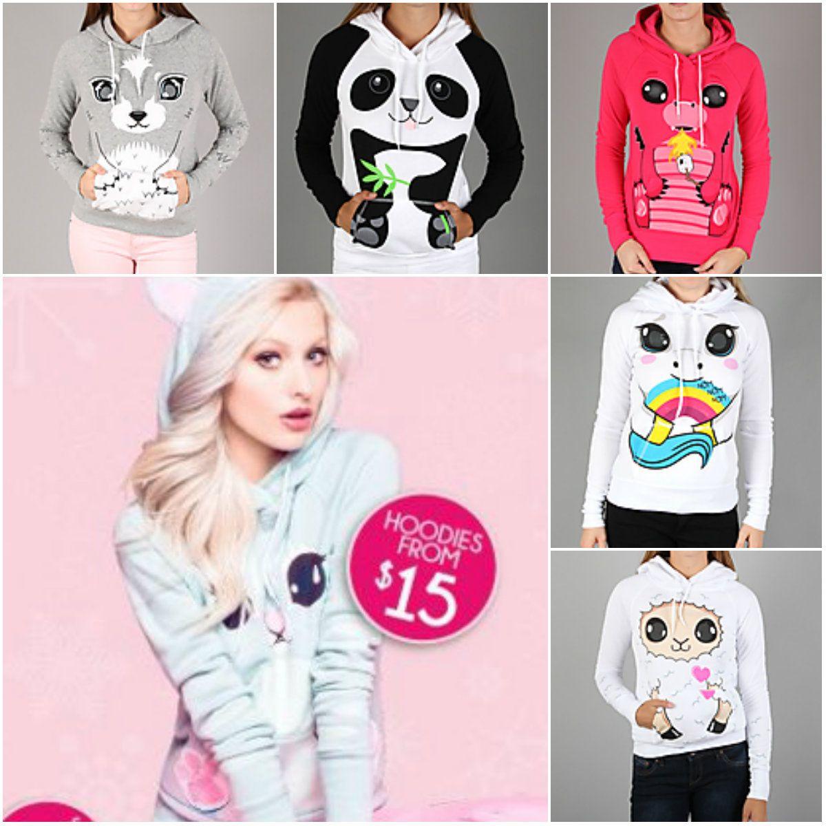 1d4fc8ac Urban Planet's cute animal hoodies! | Cute hoodies in 2019 | Animal ...