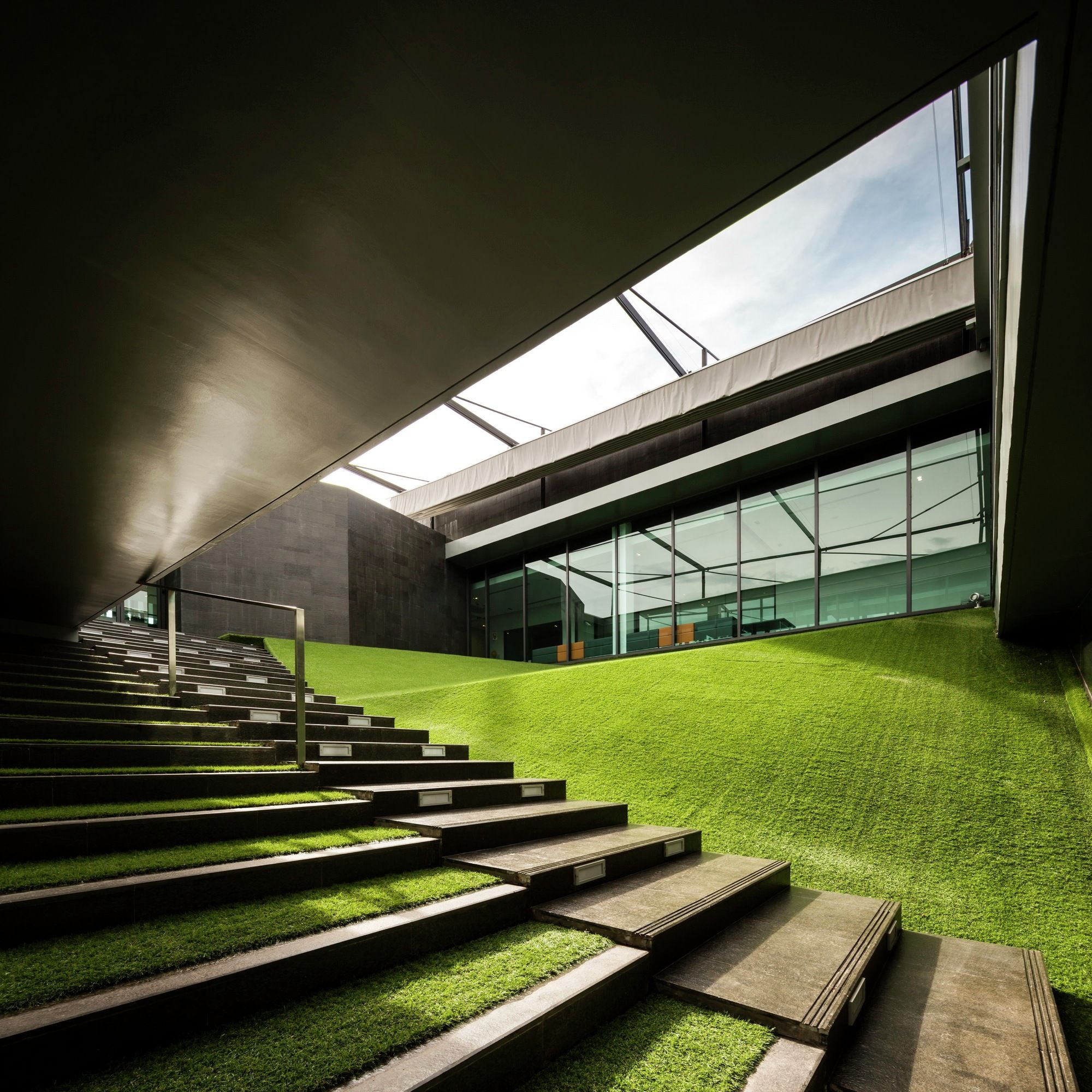 Gallery Of Pttep S1 Office Office At 2 건축 디자인 건축 건축물