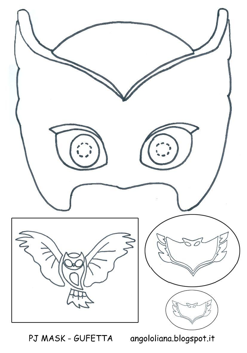Kit Creativo Superpigiamini Paginas Para Colorir Bolo Pj Masks
