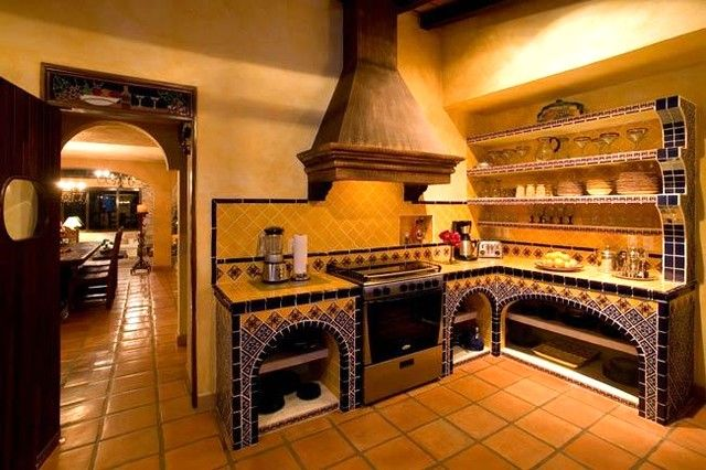 Spanish Great Luxury Kitchen Design Interior Is House In A Kitchen Room  That Uses The Luxurious