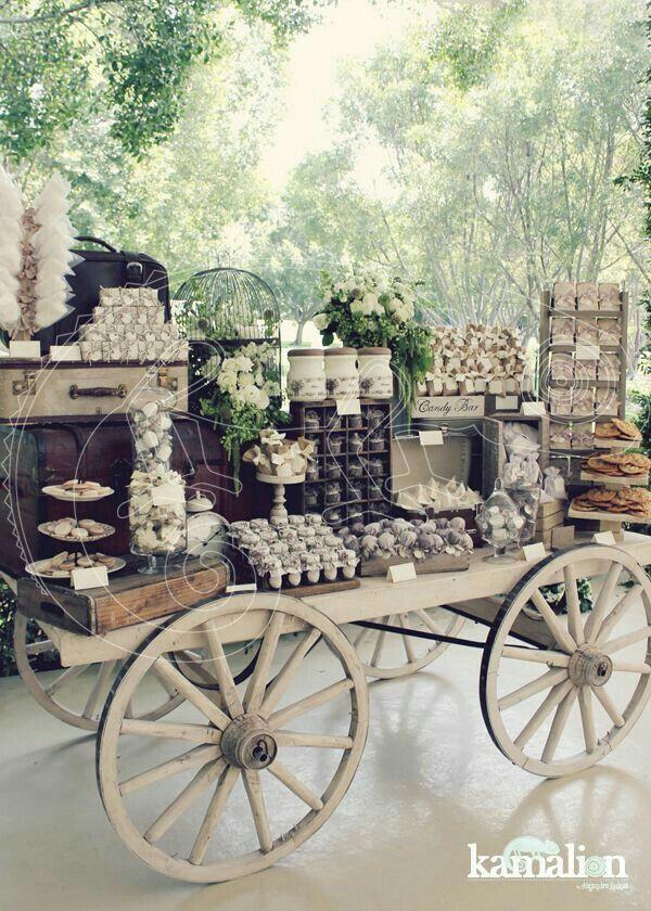 La Carreta De Los Dulces One Day Pinterest Vintage Hochzeit