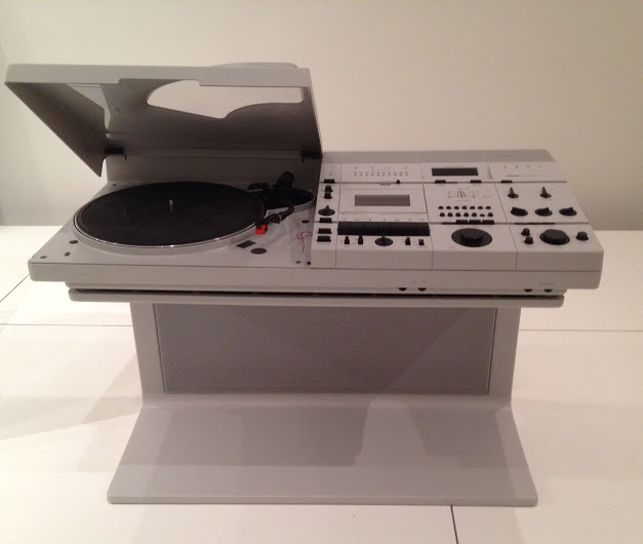 Wega Stereo System Concept 51. 1978. Plastic And Steel, 22