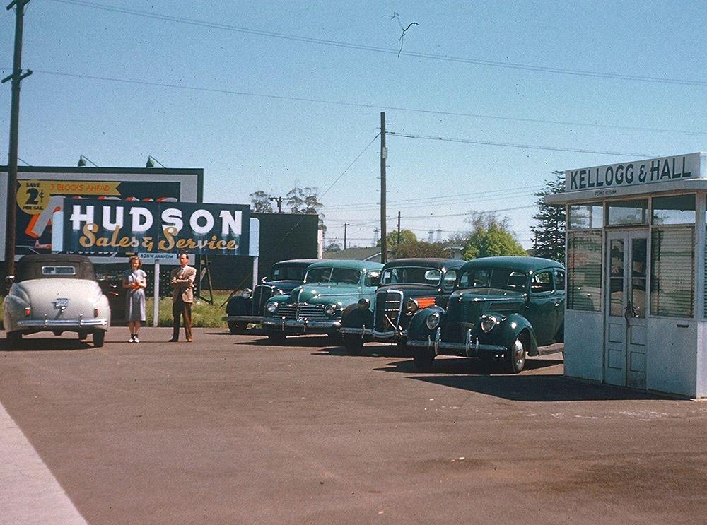 Hudson Cars Service, Los Angeles, 1943 Voiture, Photos