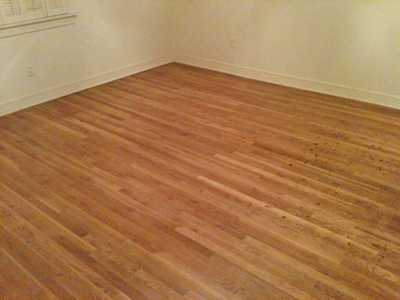 Minwax special walnut 224 on red oak | Hardwood floors ...