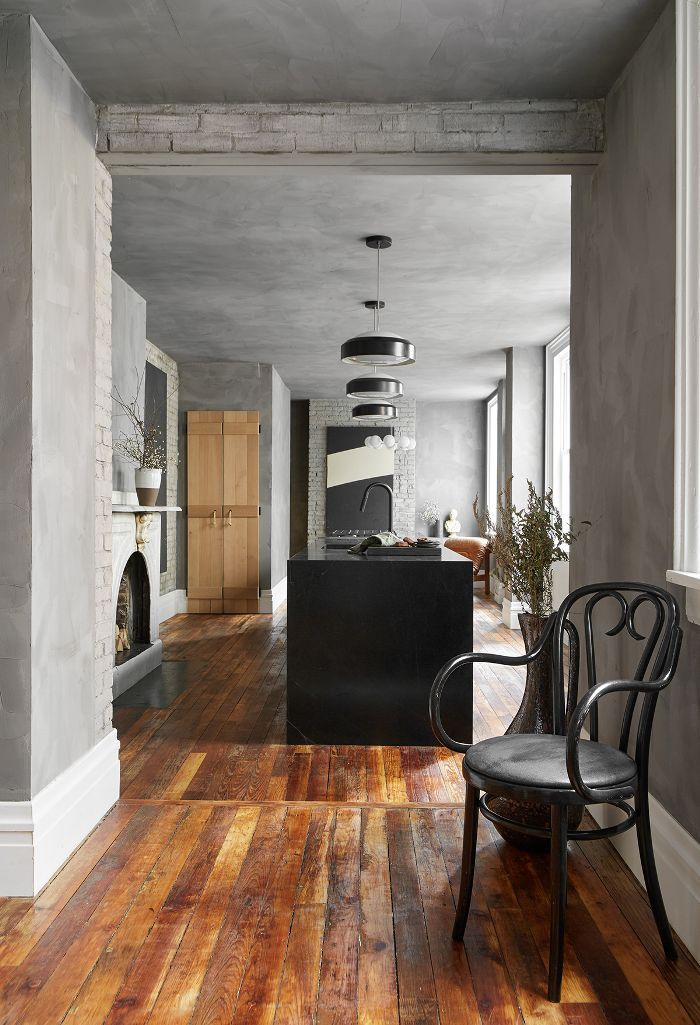 HGTV Star Leanne Ford Swapped Her White Paintbrush for Gray in This Kitchen Reno