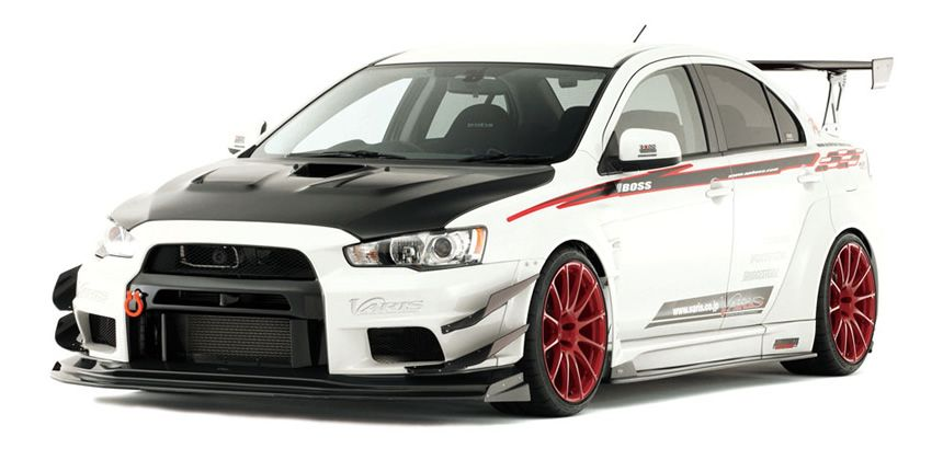 Mitsubishi Evolution X Performance Parts