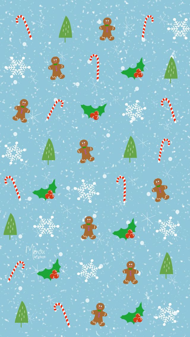 Christmas Hot Chocolate Iphone Home Wallpaper Panpins Wallpaper