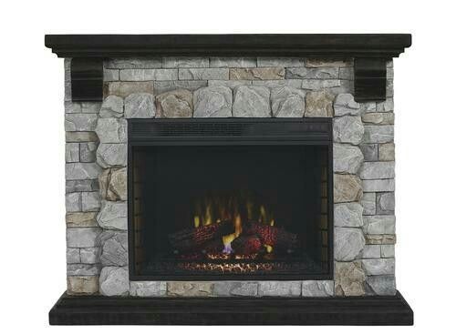 Ventless Electric Fireplace From Menards Menards Electric