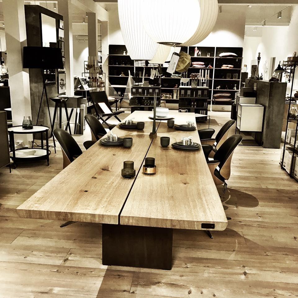 Tree Coffee Table Dk3: 4 Meters Of TREE TABLE In Solid Oak On Sale @ingvard