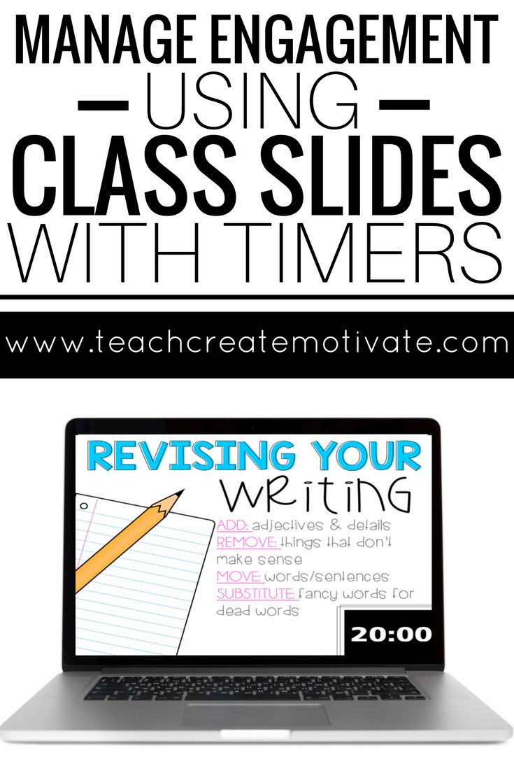 class slides with timers editable because i m an english teacher