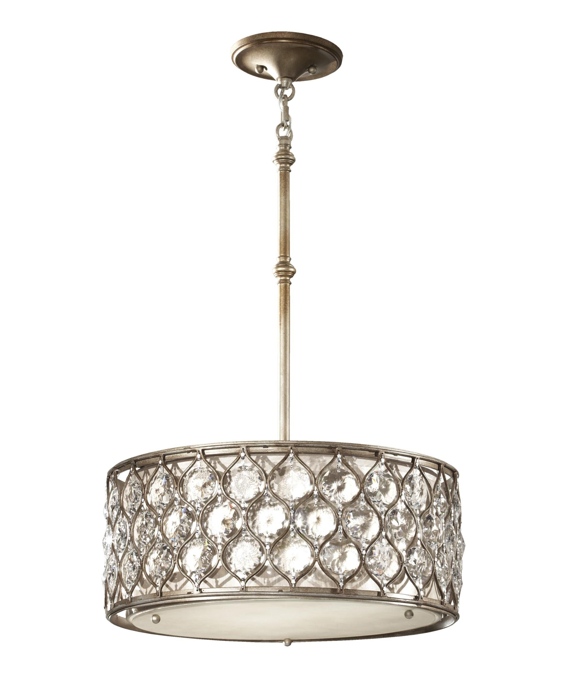 Feiss Lucia 17 Inch Large Pendant By Generation Lighting With