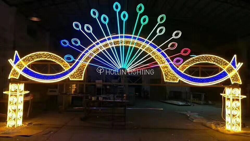 This New Design Holiday Decoration Christmas 2d Led Pole Motif Light Is Beautiful And Selling Very Hot Trang Tri
