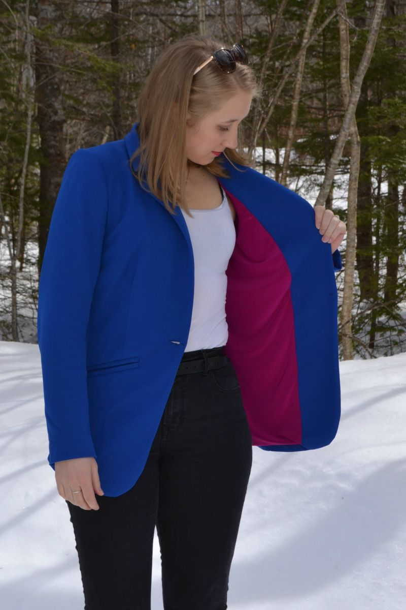Jacket Sewing Pattern Blixen Blazer Jacket Pdf Sewing Pattern