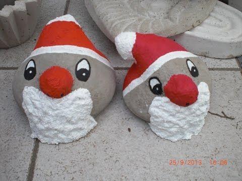 beton giessen diy weihnachtsmann aus beton und. Black Bedroom Furniture Sets. Home Design Ideas