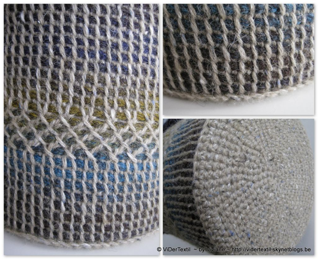 Tunisian Crochet with double-ended hook. Tutorial.