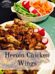 Heroin Chicken Wings