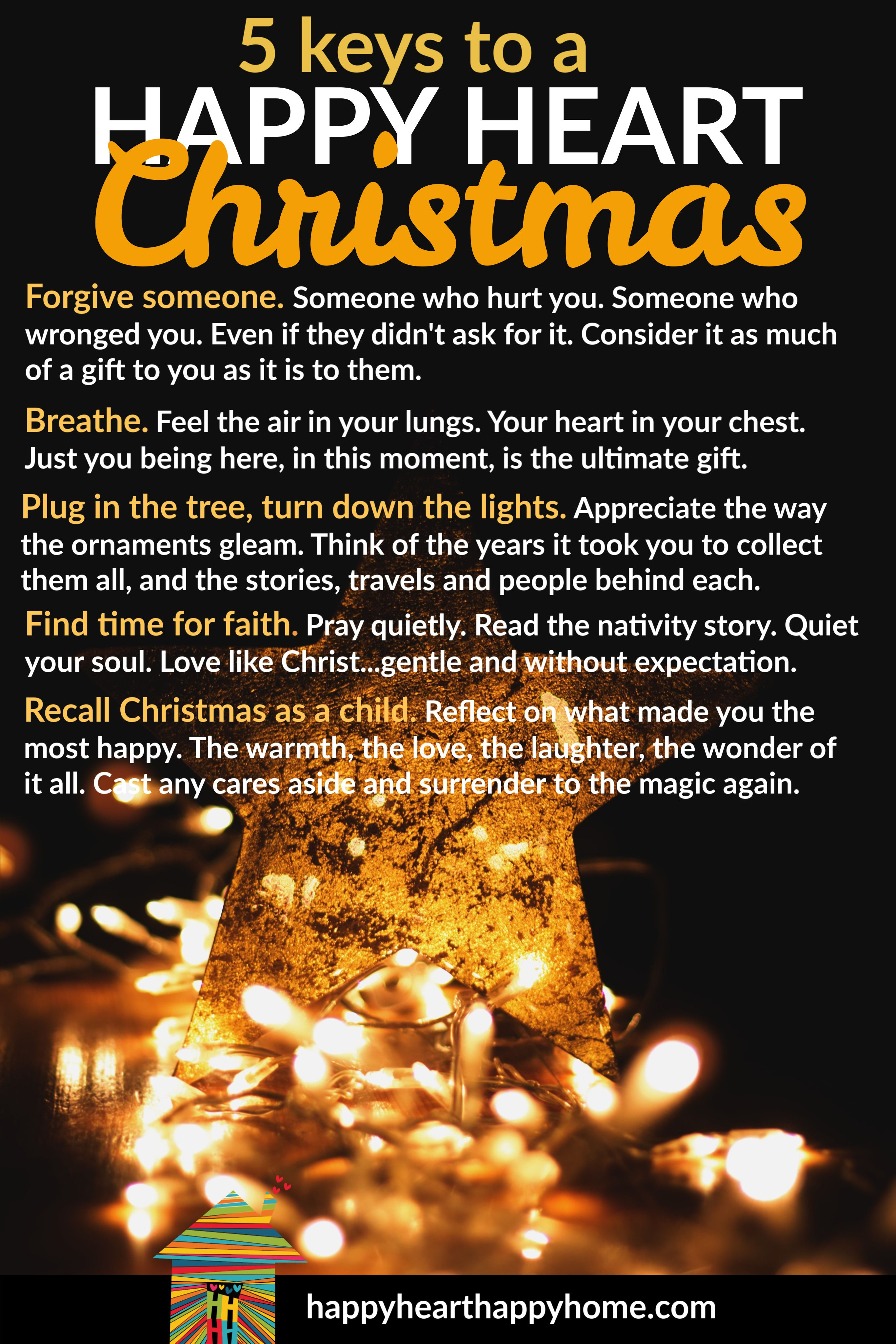 Dec 21 Best Tips For A Happy Heart Christmas