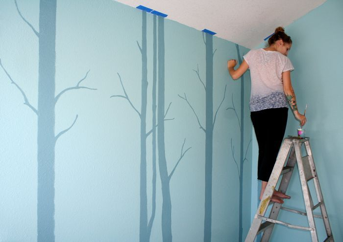 how to fix tree painting