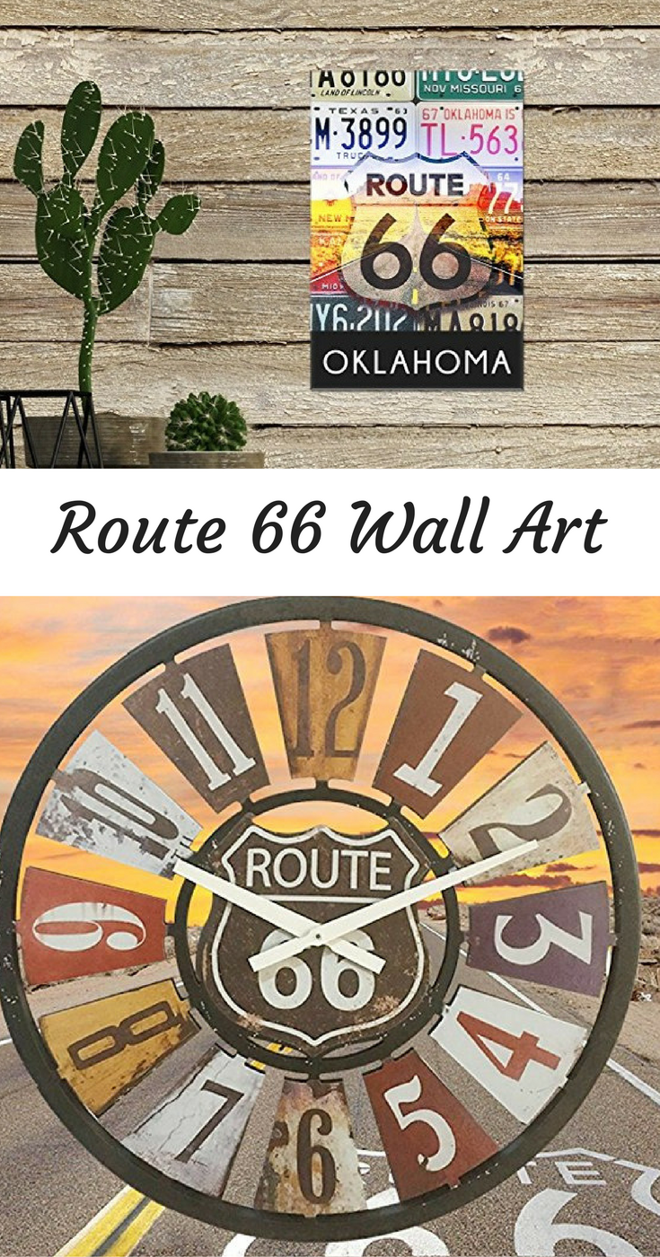 Route 66 Wall Art Is Beautiful And Full Of History Route 66 Wall