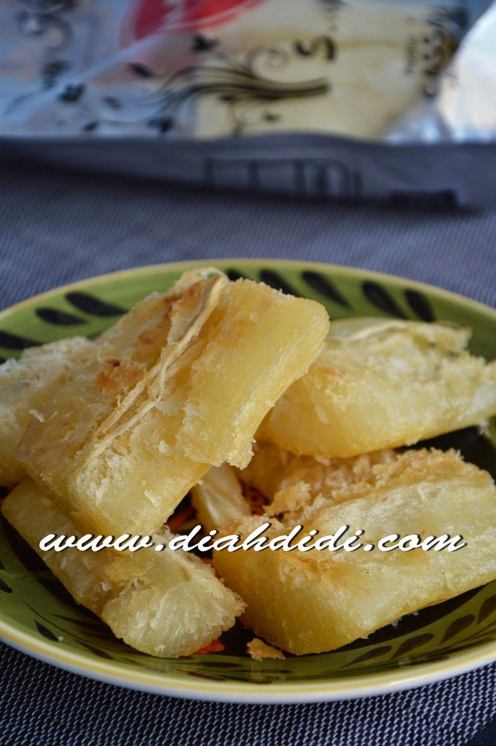 Diah Didi S Kitchen Singkong Keju Praktis Siap Goreng Resep Masakan Resep Masakan Indonesia Makanan Dan Minuman