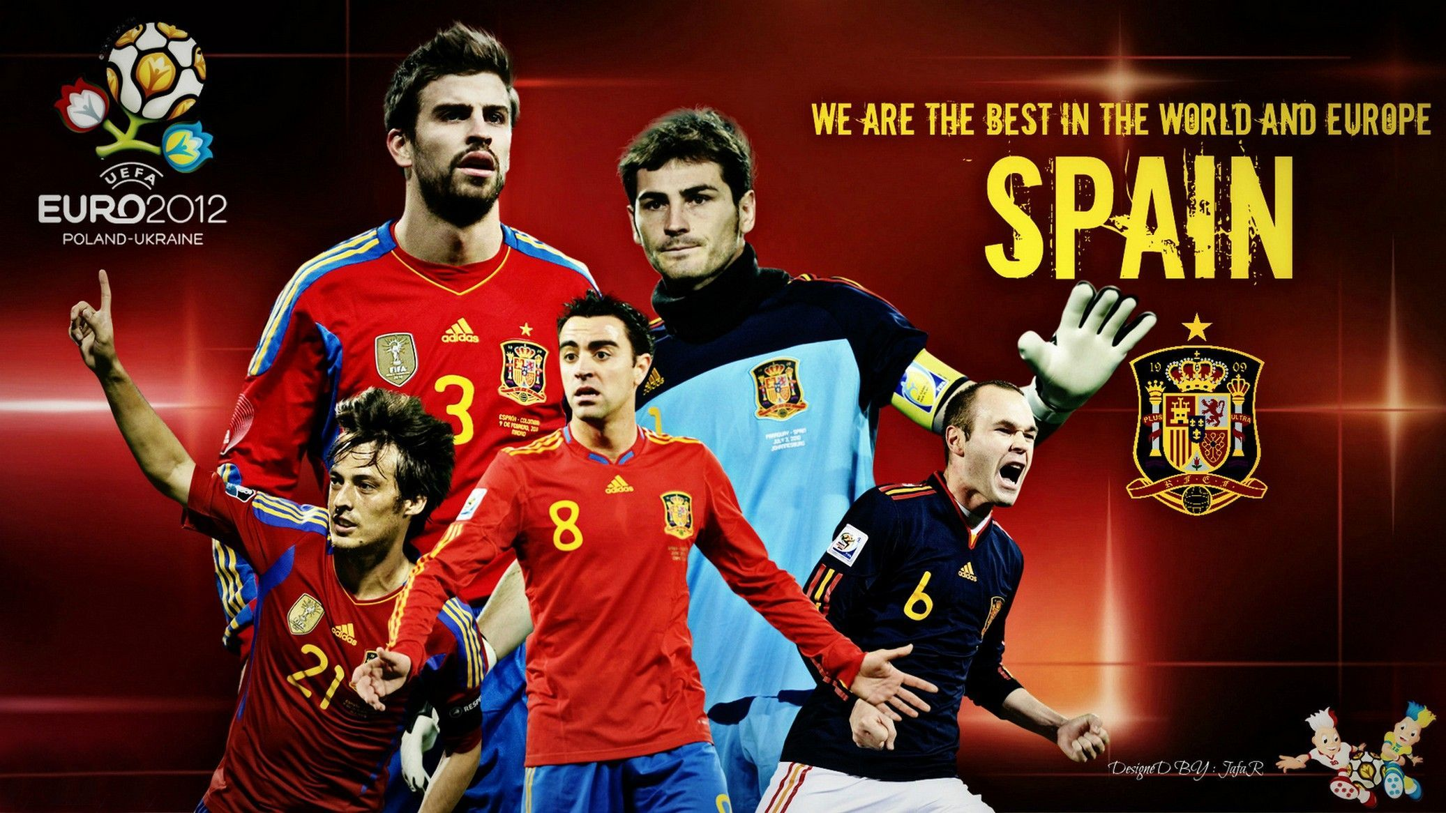 Sensational Wallpaper Images For Spain Football Logo Wallpaper Spain Hairstyles For Men Maxibearus