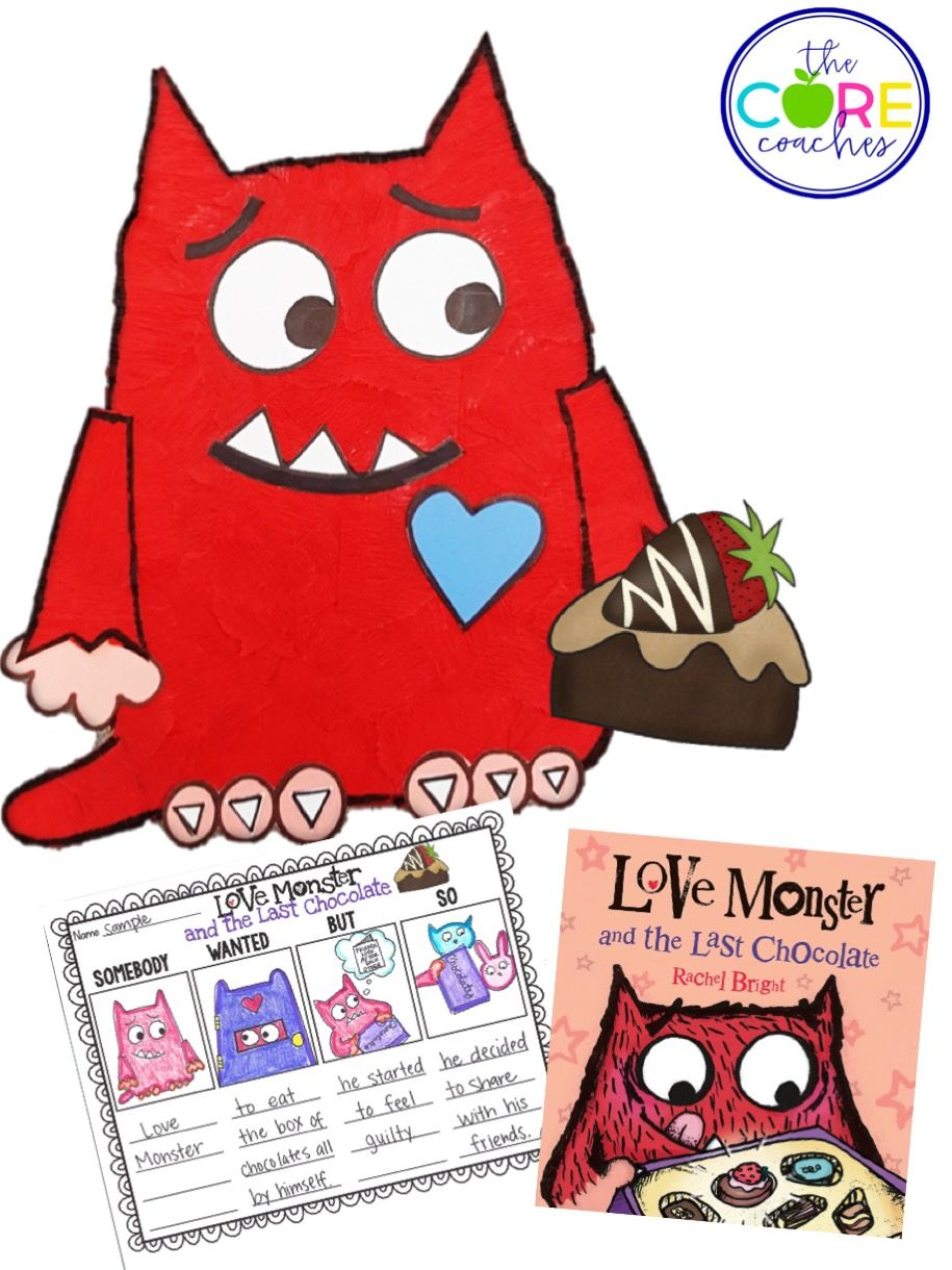 Interactive Read Alouds For February The Core Coaches Monster Activities Love Monster Interactive Read Aloud