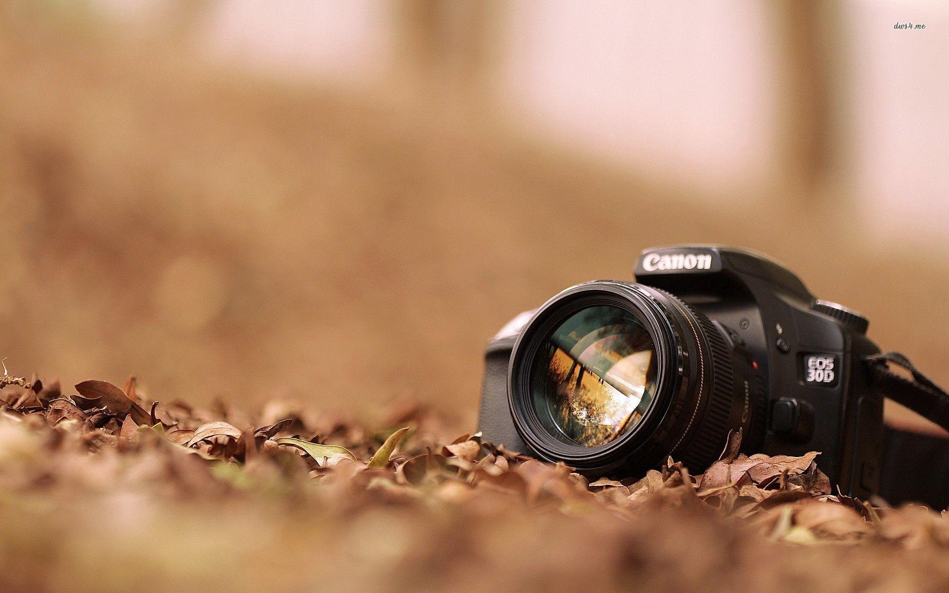Canon Camera Photography HD Desktop Wallpaper