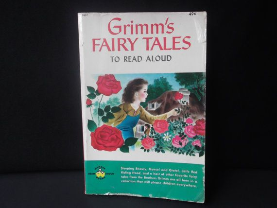 1963 ' Grimm's Fairy Tales To Read Aloud' by by PacificBlueBooks, $5.50