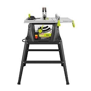 Review Of Craftsman Evolv 15 Amp 10 In Table Saw 28461 Garage Workshop Table Saw Stand Best Table Saw Craftsman Table Saw