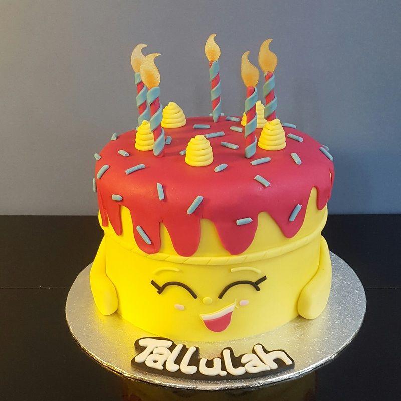 Wishes Shopkin cake by Groovy Cakes wwwgroovycakescouk