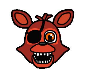 Fnaf World Adventure Classic Foxy Fnaf Fnaf Foxy Animal Logo