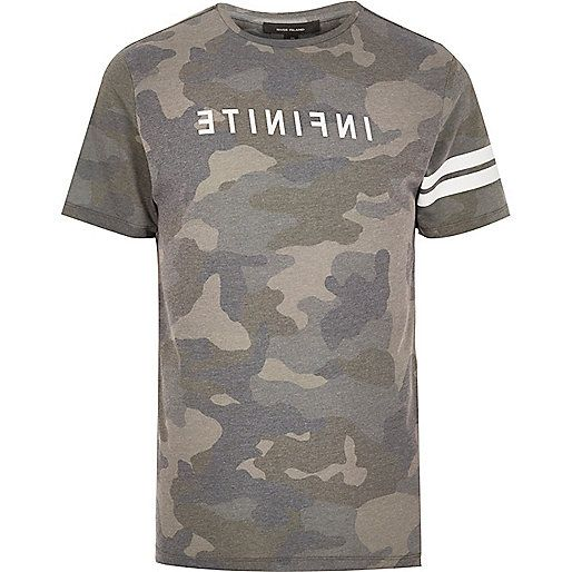 Printed T-shirt Spring/summer Camo